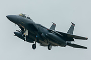 F15 LN 364 comes in to land at RAF Lakenheath on 10 June 2020. at RAF Lakenheath on 10 June 2020.
