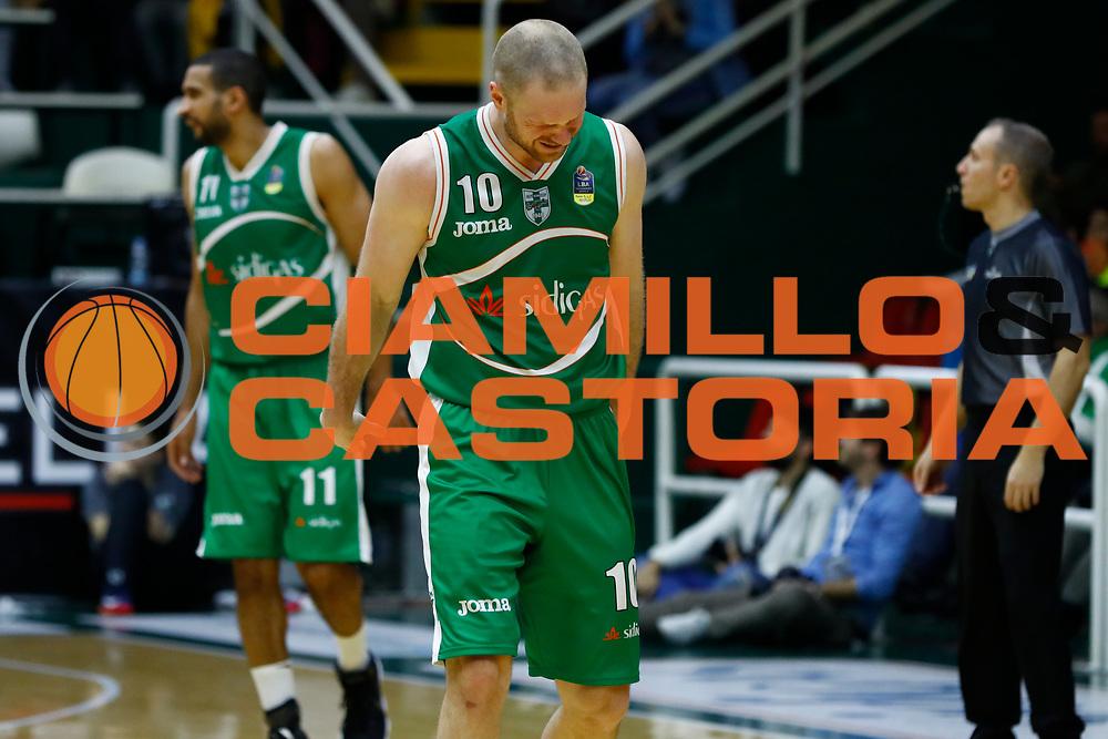 Leunen Maarten<br /> Sidigas Avellino - Vanoli Basket Cremona<br /> Lega Basket Serie A 2017/2018<br /> Avellino, 08/04/2018<br /> Foto Ciamillo-Castoria/A. De Lise