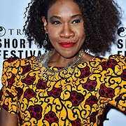 Karen Bryson attend TriForce Short Festival, on 30 November 2019, at BFI Southbank, London, UK.