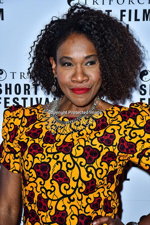 Karen Bryson attend TriForce Short Festival, on 30 November 2019, at BFI Southbank, London, UK.