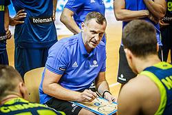 Radovan Trifunovic, head coach of Slovenia during friendly basketball match between Slovenia and Croatia , on September 8, 2018 in Arena Zlatorog, Celje, Slovenia. Photo by Ziga Zupan / Sportida