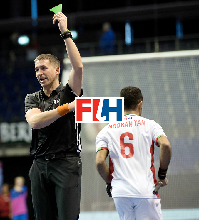 BERLIN - Indoor Hockey World Cup<br /> Men: Iran - Austria<br /> foto: Bart de Liefde.<br /> WORLDSPORTPICS COPYRIGHT FRANK UIJLENBROEK