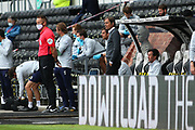 Phillip Cocu manager of Derby County during the EFL Sky Bet Championship match between Derby County and Brentford at the Pride Park, Derby, England on 11 July 2020.