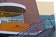Park Place building close-up Irvine CA shopping center Michelson Dr & Jamboree Rd Modern architectural design