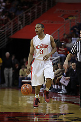04 December 2010: Trey Blue during an NCAA basketball game between the Montana State Bobcats and the Illinois State Redbirds at Redbird Arena in Normal Illinois.