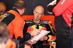 May 22, 2018 - Barcelona, Catalonia, Spain - Bradley Smith (KTM) during the Moto GP test in the Barcelona Catalunya Circuit, on 22th May 2018 in Barcelona, Spain. (Credit Image: © Joan Valls/NurPhoto via ZUMA Press)