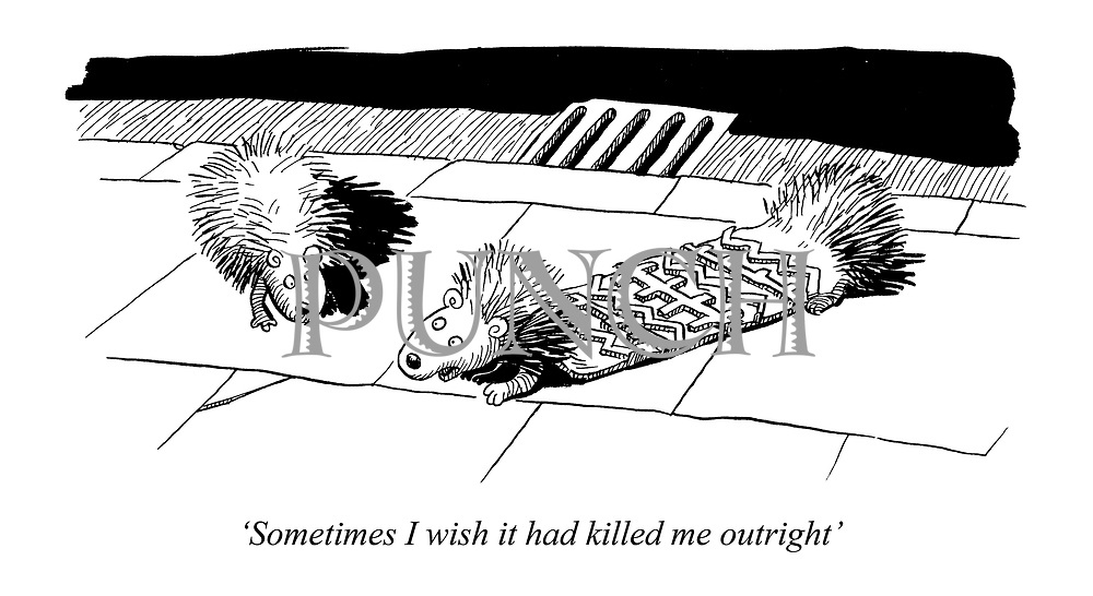 'Sometimes I wish it had killed me outright'