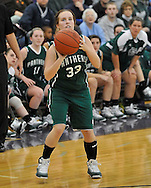 Elyria Catholic vs Lorain in high school girls basketball action on November 26, 2010. © David Richard