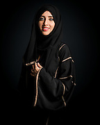 Portraits of the participants of Arab Film Studio, a film training initiative by Image Nation Abu Dhabi which culminates in a competition. Eman Talal Alsayed winner of 2016 Narrative and Scriptwriting programmes