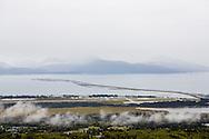 Utsikt över Homer, Alaska, USA
