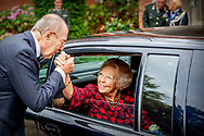 29-8-2018 HILVERSUM - Princess Beatrix during the last reunion of the Engelandvaarders. The reunion is also the end of the Association of Englanders, which was founded in 1969. copyright robin utrecht