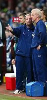Photo Aidan Ellis.<br />Scotland v New Zealand (intl friendly at Tynecastle)<br />27/05/2003.<br />Scotland manager Berti Voghts talks to Tommy Burns.