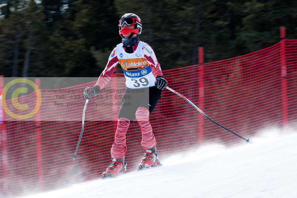 KUBACKA Marek, SVK, Super Combined, 2013 IPC Alpine Skiing World Championships, La Molina, Spain