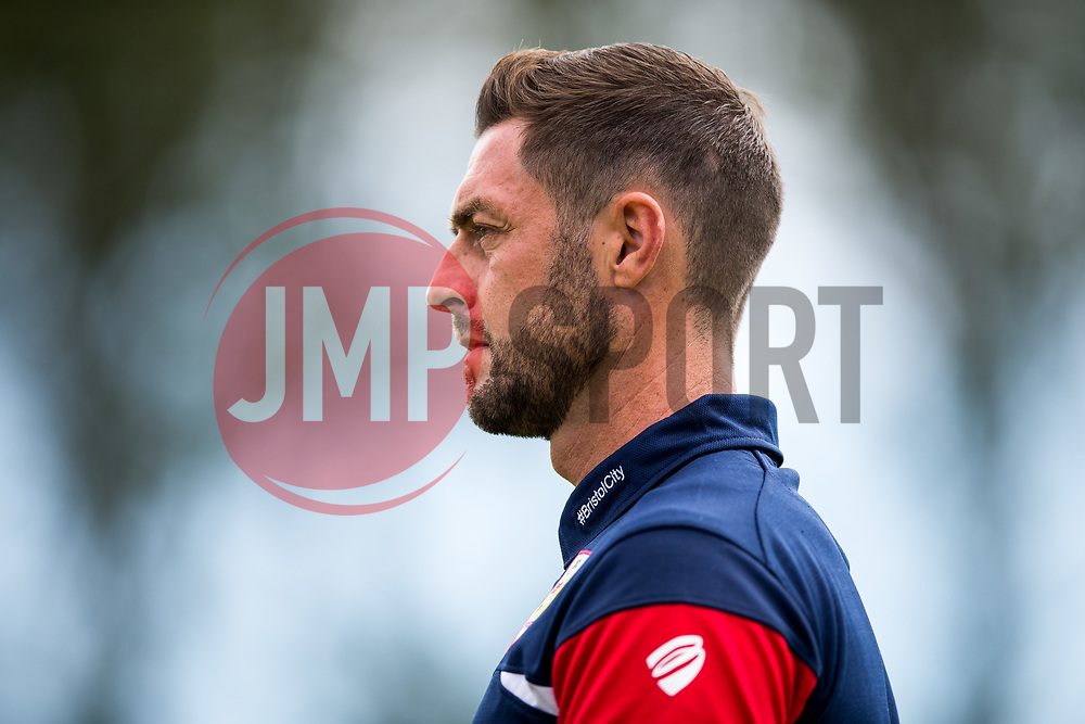 Bristol City Assistant Head Coach Jamie McAllister - Rogan/JMP - 08/07/2017 - Footes Lane - Guernsey - Guernsey FC v Bristol City - Pre-season Friendly.
