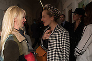 CHARLOTTE DELLAL, Vogue100 A Century of Style. Hosted by Alexandra Shulman and Leon Max. National Portrait Gallery. London. WC2. 9 February 2016.