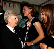 St Peter's Port, Guernsey, CHANNEL ISLANDS,  Di ELLIS presents medals to the Ladies crew from the Southampton Coalporters RC open winners in the Ladies Fours at the 2006 FISA World Coastal Rowing   Rowing Challenge,  03/09/2006.  Photo  Peter Spurrier, © Intersport Images,  Tel +44 [0] 7973 819 551,  email images@intersport-images.com