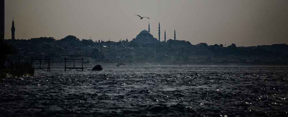 Istanbul is a fascinating city at the gateway between Europe and Asia. Sultanahmet skyline. Sultanahmet
