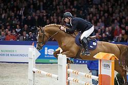 Parmler Niclas - Do Spiritivo<br /> KWPN Stallion Selection - 's Hertogenbosch 2014<br /> © Dirk Caremans