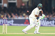Asad Shafiq of Pakistan on DAy Two of the NatWest Test Match match at Lord's, London<br /> Picture by Simon Dael/Focus Images Ltd 07866 555979<br /> 25/05/2018