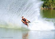 Barefoot waterskiing