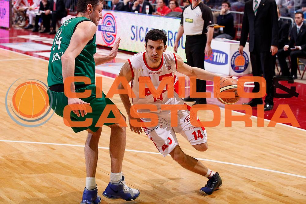 DESCRIZIONE : Milano Lega A1 2007-08 Armani Jeans Milano Montepaschi Siena<br /> GIOCATORE : Dusan Vukcevic<br /> SQUADRA : Armani Jeans Milano<br /> EVENTO : Campionato Lega A1 2007-2008<br /> GARA : Armani Jeans Milano Montepaschi Siena<br /> DATA : 17/02/2008<br /> CATEGORIA : Penetrazione<br /> SPORT : Pallacanestro<br /> AUTORE : Agenzia Ciamillo-Castoria/G.Cottini