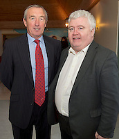Padraig O' CallaghanChairman of SCCUL Enterprises,  and Ivan McPhillips GMIT at the Launch of the SCCUL Sanctuary at Kilcuan, Clarinbridge.<br /> Photo:Andrew Downes