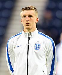 Matt Targett of England U21 - Mandatory byline: Matt McNulty/JMP - 07966386802 - 03/09/2015 - FOOTBALL - Deepdale Stadium -Preston,England - England U21 v USA U23 - U21 International