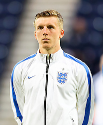 Matt Targett of England U21 - Mandatory byline: Matt McNulty/JMP - 07966386802 - 03/09/2015 - FOOTBALL - Deepdale Stadium -Preston,England - England U21 v USA U23 - U21 International