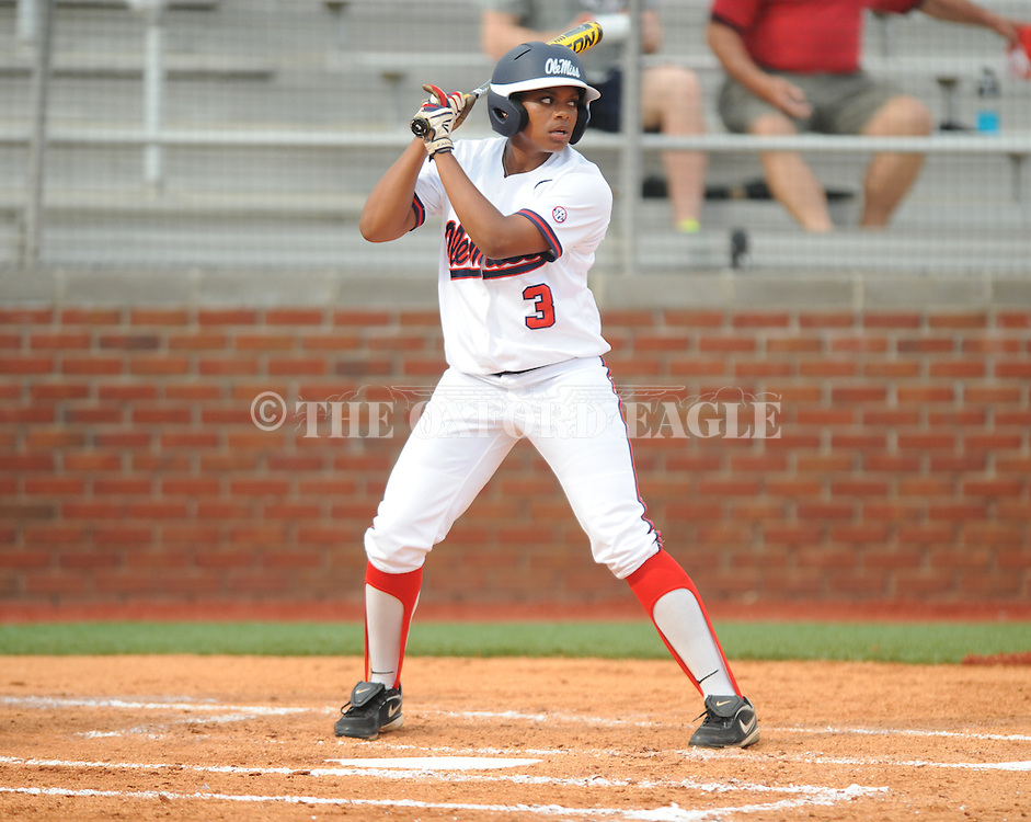 Ole Miss' Bri Payne vs. Louisiana-Monroe at the Ole Miss Softball Complex in Oxford, Miss. on Wednesday, April 17, 2013. Ole Miss won 8-0.
