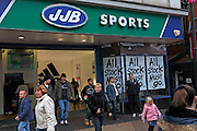 JJB Sports sale, Ipswich, Suffolk, England 27/12/2008