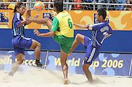 Footbal-FIFA Beach Soccer World Cup 2006 -  Oficial Games BRA x JPN -Bruno - Brazil - 05/11/2006.<br />Mandatory Credit: FIFA/Ricardo Ayres