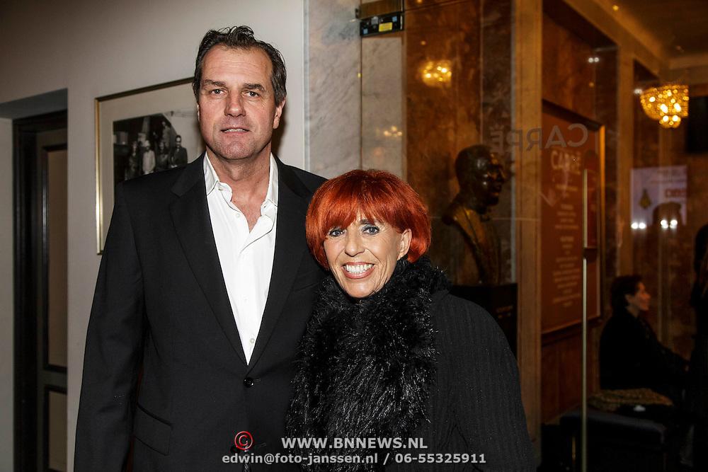 NLD/Amsterdam/20150202 - Willeke Alberti 70 jaar, Trea Dobbs en Peter Steenhuis