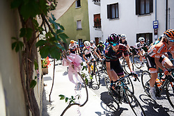 Alexis Ryan (USA) in the bunch at Giro Rosa 2018 - Stage 10, a 120.3 km road race starting and finishing in Cividale del Friuli, Italy on July 15, 2018. Photo by Sean Robinson/velofocus.com
