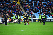 during the Aviva Premiership match between Wasps and Exeter Chiefs at the Ricoh Arena, Coventry, England on 18 February 2018. Picture by Dennis Goodwin.