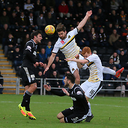 Craig Barr gets to the ball first  during the Dumbarton v St Mirren Scottish Championship 14 October 2017<br /> <br /> <br /> <br /> <br /> <br /> (c) Andy Scott | SportPix.org.uk"|250|250|?|en|2|5bc7719192780d09f0025e454a4d8e41|False|UNLIKELY|0.31451719999313354