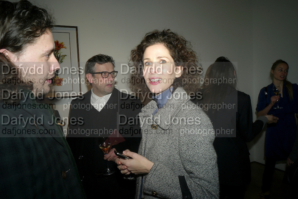 ADAM WAYMOUTH; MOLLIE DENT-BROCKLEHURST, THE LAUNCH OF THE KRUG HAPPINESS EXHIBITION AT THE ROYAL ACADEMY, London. 12 December 2011.