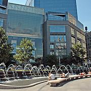 Time Warner Center from Columbus Circle