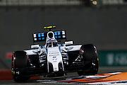 November 21-23, 2014 : Abu Dhabi Grand Prix. Valtteri Bottas (FIN), Williams Martini Racing