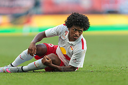 21.07.2015, Red Bull Arena, Salzburg, AUT, Testspiel, FC Red Bull Salzburg vs Bayer 04 Leverkusen, im Bild Yordy Reyna (FC Red Bull Salzburg) // during the International Friendly Football Match between FC Red Bull Salzburg and Bayer 04 Leverkusen at the Red Bull Arena in Salzburg, Austria on 2015/07/21. EXPA Pictures © 2015, PhotoCredit: EXPA/ JFK