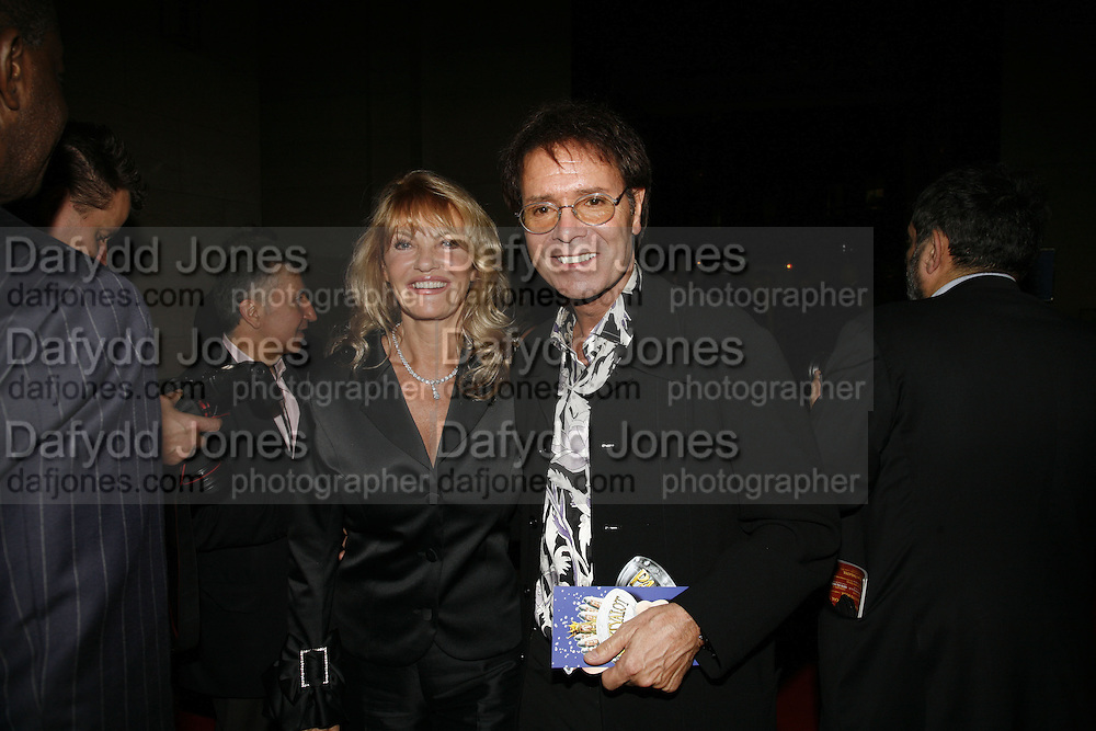 Cliff Richard, Opening of Spamalot at the Night Palace Theatre and afterwards at Freemasons Hall Gt. Queen St.  London. 17 October 2006. -DO NOT ARCHIVE-© Copyright Photograph by Dafydd Jones 66 Stockwell Park Rd. London SW9 0DA Tel 020 7733 0108 www.dafjones.com
