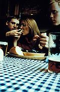 Pub dinner, Manchester, U.K, 2000.