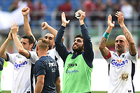 esultanza a fine gara Empoli celebration<br /> Milano 23-04-2017, Stadio Giuseppe Meazza, Football Calcio 2016/2017 Serie A, Milan - Empoli, Foto Image Sport/Insidefoto