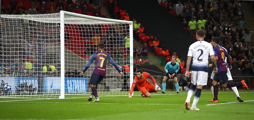 صور مباراة : توتنهام - برشلونة 2-4 ( 03-10-2018 )  38928734