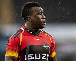 Josiah Twum-Boafo of Southern Kings<br /> <br /> Photographer Simon King/Replay Images<br /> <br /> Guinness PRO14 Round 6 - Ospreys v Southern Kings - Saturday 9th November 2019 - Liberty Stadium - Swansea<br /> <br /> World Copyright © Replay Images . All rights reserved. info@replayimages.co.uk - http://replayimages.co.uk