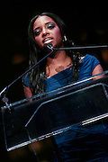 "15 November 2010- New York, NY- NAN National Executive Director Tamika Mallory at The National Action Network's 1st Annual Triumph Awards honoring ""Our Best"" in the Arts, Entertainment, & Sports held at Jazz at Lincoln Center on November 15, 2010 in New York City. Photo Credit: Terrence Jennings"
