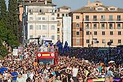 2013/06/15 Roma, corteo del Gay Pride 2013. Nella fotovil corteo .<br /> Rome, Gay Pride rally 2013. In the picture the rally - &copy; PIERPAOLO SCAVUZZO