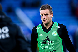 Jamie Vardy of Leicester City - Mandatory by-line: Robbie Stephenson/JMP - 12/04/2019 - FOOTBALL - King Power Stadium - Leicester, England - Leicester City v Newcastle United - Premier League