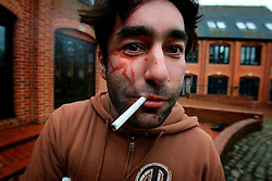 UK ENGLAND HECKFIELD 8-12JAN07 - Centurion Safety-organised Hostile Environment and Emergency First Aid Training course participant Jiri Rezac poses for a portrait...jre/Photo by Maya Alleruzzo..© Jiri Rezac 2007..Contact: +44 (0) 7050 110 417.Mobile:  +44 (0) 7801 337 683.Office:  +44 (0) 20 8968 9635..Email:   jiri@jirirezac.com.Web:    www.jirirezac.com..© All images Jiri Rezac 2007 - All rights reserved.