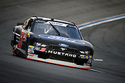 September 28-30, 2018. Charlotte Motorspeedway, Xfinity Series, Drive for the Cure 200: Ty Majeski, J.P. Motorsports, Ford