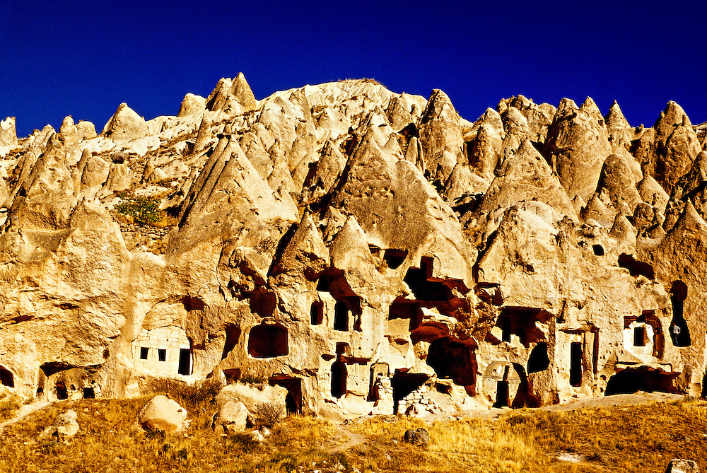 Zelve Open Air Museum, Zelve, Cappadocia, Turkey